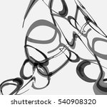 abstract gray circle pattern | Shutterstock .eps vector #540908320
