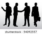 business people vector | Shutterstock .eps vector #54092557