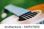 Acoustic Guitar Bridge And...