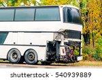 Ruined Tourist Bus