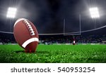 american football in stadium at ... | Shutterstock . vector #540953254