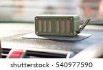 bluetooth speaker and car... | Shutterstock . vector #540977590