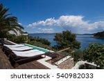 komiza  vis   croatia   aug 15  ... | Shutterstock . vector #540982033