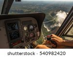 helicopter flights over the ... | Shutterstock . vector #540982420