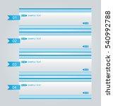 business infographics template... | Shutterstock .eps vector #540992788