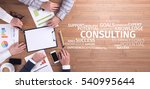 business concept  consulting... | Shutterstock . vector #540995644