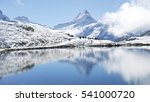 snow mountains water... | Shutterstock . vector #541000720