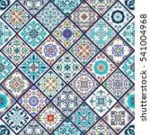beautiful mega patchwork... | Shutterstock . vector #541004968
