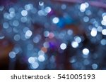 blue shiny festive blurred... | Shutterstock . vector #541005193