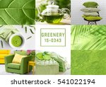 trendy color concept. set with... | Shutterstock . vector #541022194