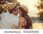 couple in love.   | Shutterstock . vector #541029640
