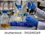 modern scientist working in... | Shutterstock . vector #541040269