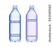 empty plastic bottle. set... | Shutterstock .eps vector #541040560