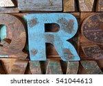 Alphabet Abstract   Vintage...