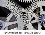 macro photo of tooth wheel... | Shutterstock . vector #541051090
