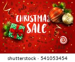Christmas Sale Template With...