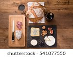 above overhead view flat lay... | Shutterstock . vector #541077550