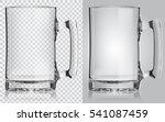 Vector Transparent Beer Mug....