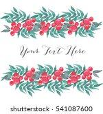 watercolor flower background....   Shutterstock .eps vector #541087600