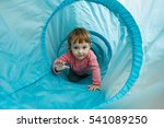 small toddler playing in a... | Shutterstock . vector #541089250