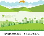 ecology connection  concept...   Shutterstock .eps vector #541105573