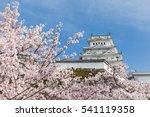 japan himeji castle   white...   Shutterstock . vector #541119358