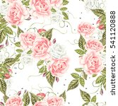 seamless pattern with... | Shutterstock . vector #541120888