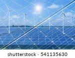 Double Exposure Solar Panels...