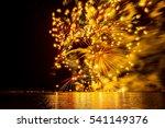Firework On Bodensea