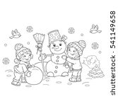 coloring page outline of... | Shutterstock .eps vector #541149658