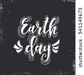 earth day. hand drawn... | Shutterstock .eps vector #541149673