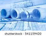 architectural project  | Shutterstock . vector #541159420