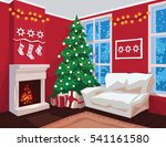 Colorful Christmas Room...
