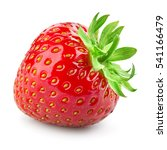 strawberry. fresh berry... | Shutterstock . vector #541166479