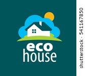 vector logo house | Shutterstock .eps vector #541167850