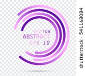 Circle Purple. Vector...