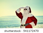 christmas vacation   santa... | Shutterstock . vector #541172470
