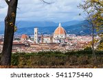 travel to italy   above view of ... | Shutterstock . vector #541175440