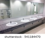 toilet public men empty...   Shutterstock . vector #541184470