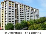 view of singapore residential...   Shutterstock . vector #541188448