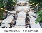blur image of outdoor market on ... | Shutterstock . vector #541189300