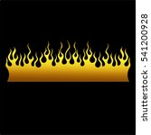 colored tribal flames. it can... | Shutterstock .eps vector #541200928