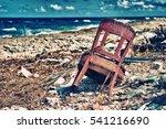 rubbish in the coast of cuba | Shutterstock . vector #541216690