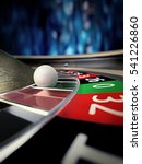 Roulette Wheel In Online Casin...