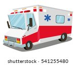 ambulance. transport  rescue | Shutterstock .eps vector #541255480