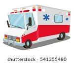 ambulance. transport  rescue | Shutterstock .eps vector #541255480