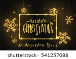 merry christmas and happy new... | Shutterstock .eps vector #541257088