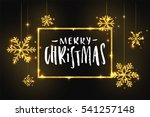 merry christmas and happy new... | Shutterstock .eps vector #541257148
