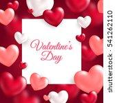 Valentine's Day Concept. Vecto...
