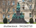 beethoven monument on the... | Shutterstock . vector #541262710